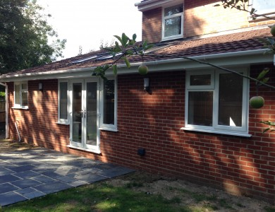 Single Storey Extension in Stoneham Way, Petersfield.