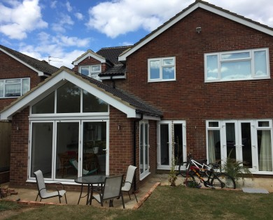 Two Storey Extension in Petersfield.